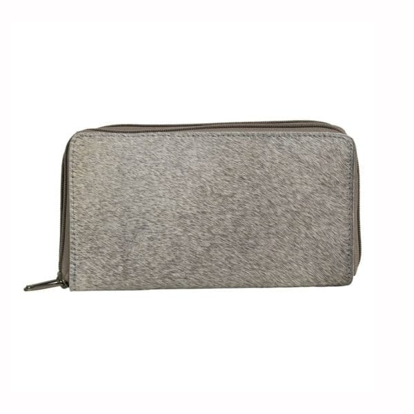 Wallet Cow  Gray   Cotton 20x12x3